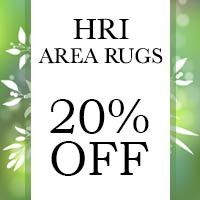 HRI Area Rugs 20% OFF this month at Lakeside Floors in Huffman.