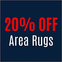 Save 20% on HRI Area Rugs *Minimum purchase of $999. Valid on HRI rugs only.