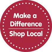 Make a difference in our community. Shop Local!