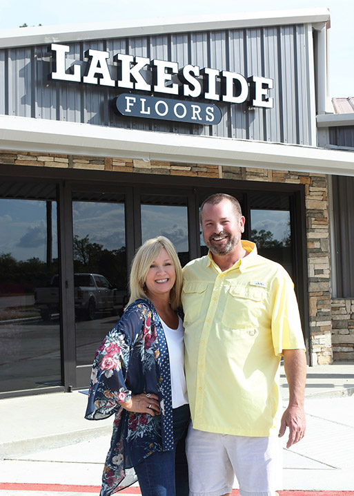 Come visit the owners of Lakeside Floors To Go in Huffman, Texas. We are your local, family-owned flooring store!