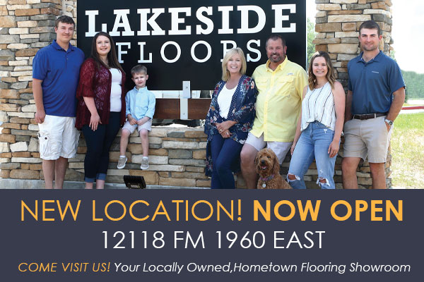 Now Open come visit us today! Lakeside Floors To Go