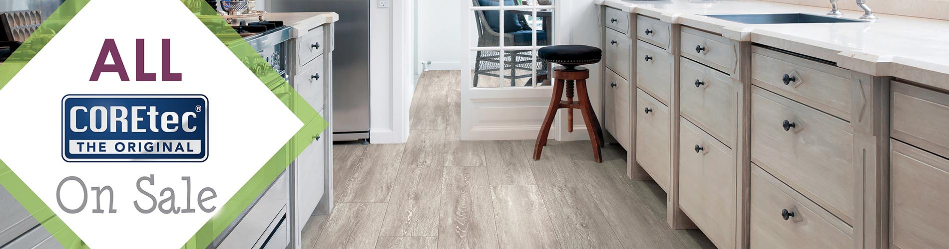 Save on ALL COREtec luxury vinyl flooring through the end of this year! Stop in today and learn about the latest trends in waterproof luxury vinyl!